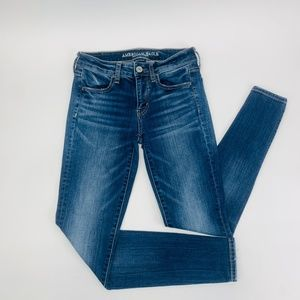 American Eagle Womens Jeans Blue Jegging Stretch